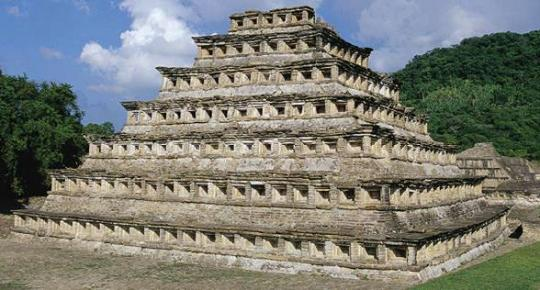 pyramid of the 365 niches