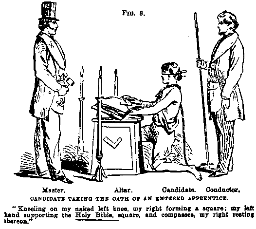 Duncan's Masonic Ritual and Monitor by Malcolm C. Duncan, 1866, p. 33