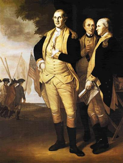 George Washington hidden hand portraits 3 of 3