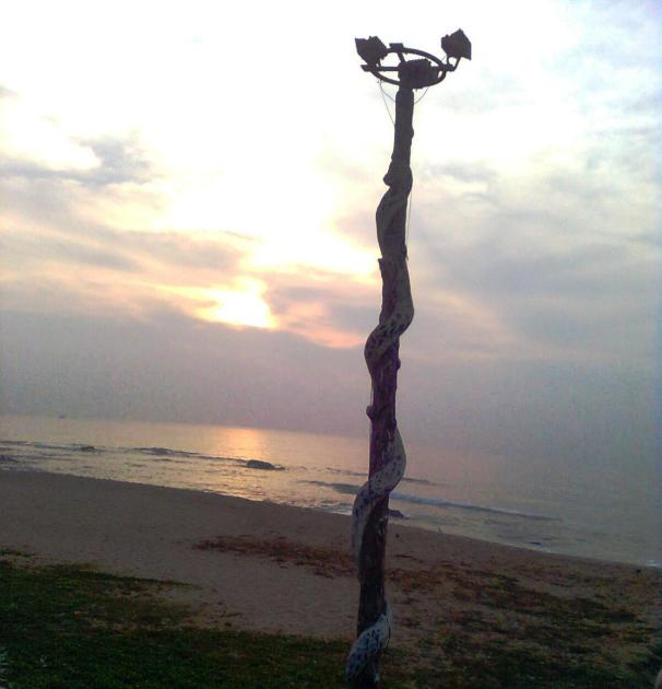 Sunrise at Visakha Beach