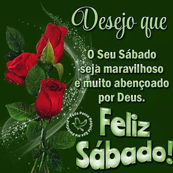 Feliz sábado abençoado por Deus