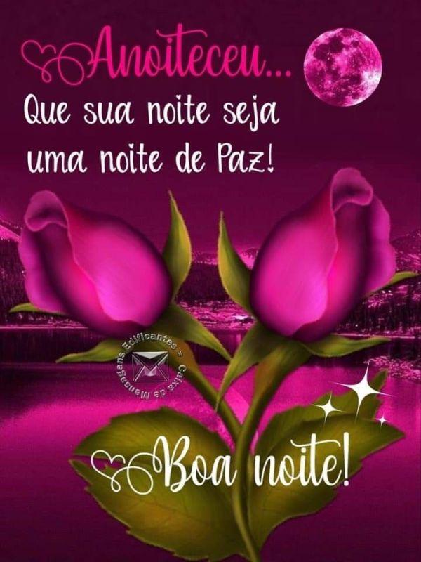 Boa noite de natal com muita paz e felicidade, Mensagens de boa noite e feliz natal