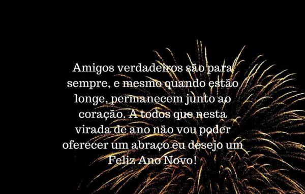Feliz ano novo a todos os amigos