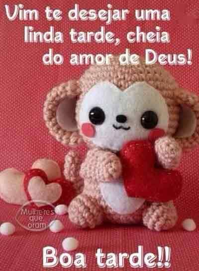 Boa tarde com o amor de Deus