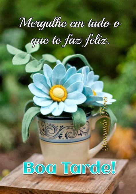 Boa tarde com amor e felicidades