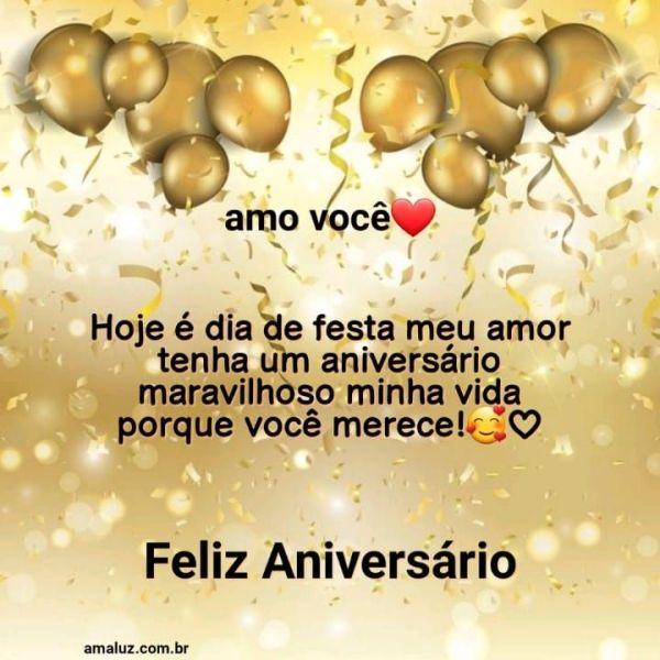 Hoje e dia de festa feliz aniversário