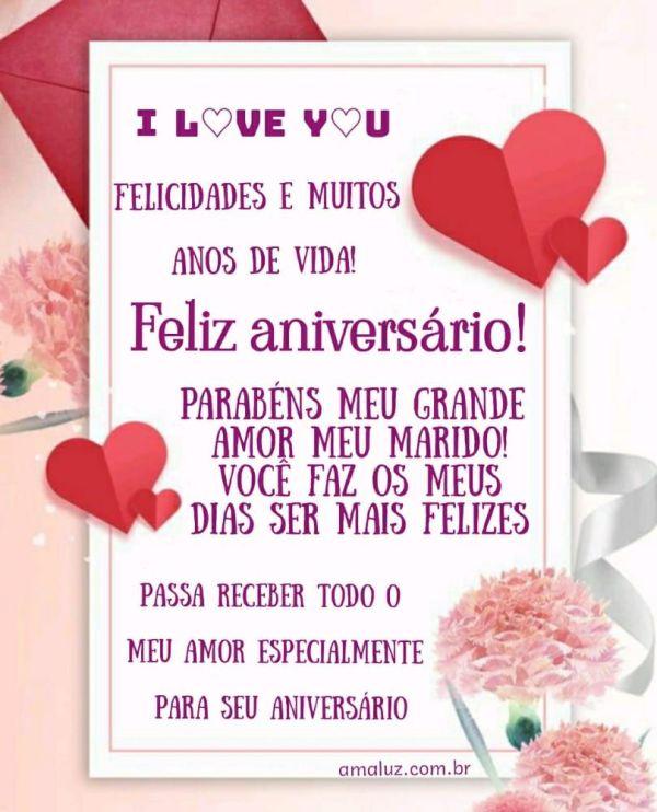 feliz aniversario felicidades meu grande amor meu marido