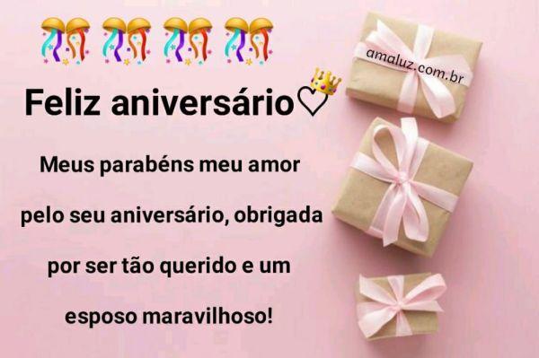 feliz aniversario meus parabéns meu amor pelo aniversario