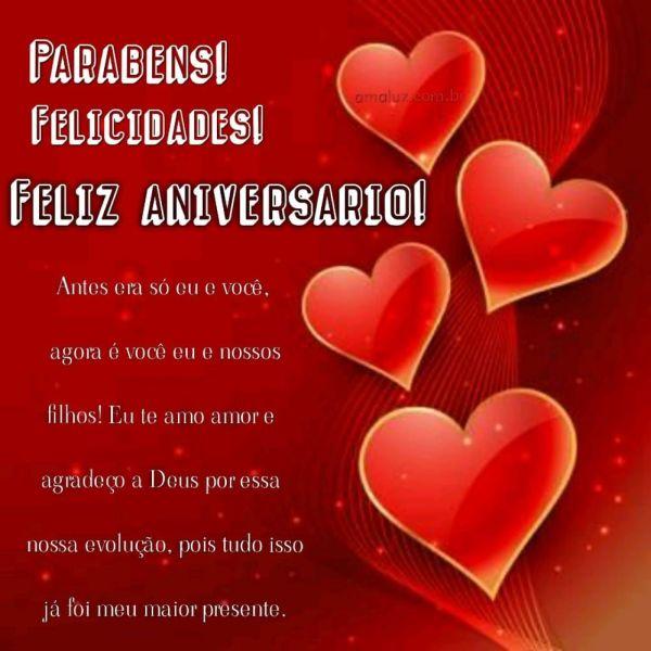 mensagens de feliz aniversario para querido marido