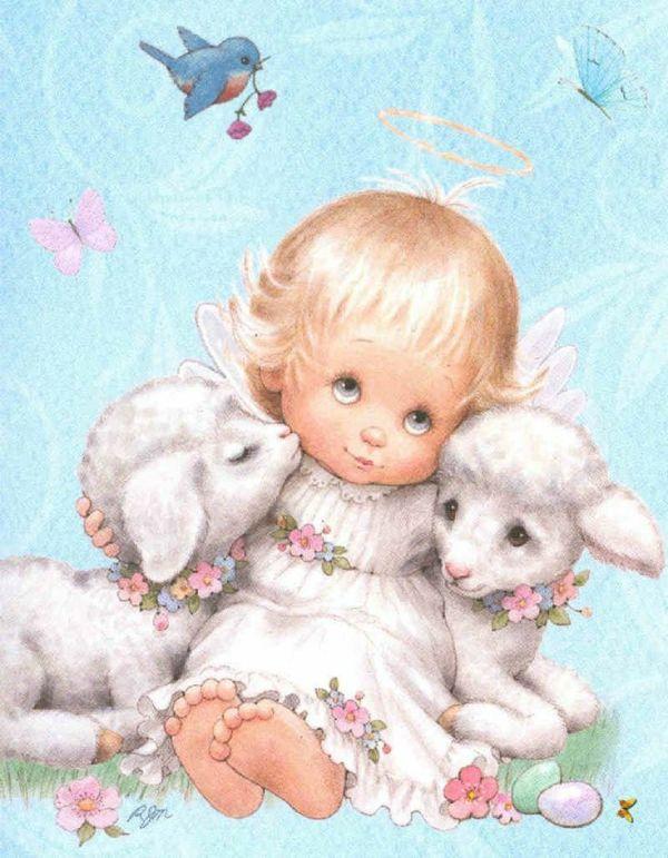bebezinho com ovelhindas