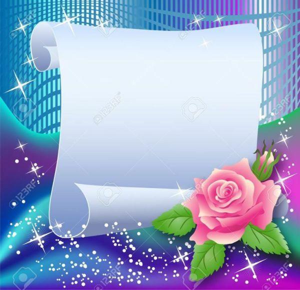 imagem com flor e bloquinho de escreve mensagens