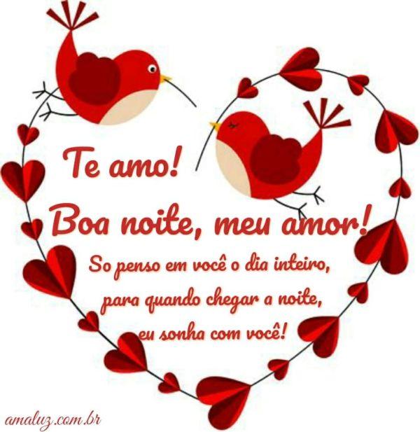 te amo boa noite meu amor