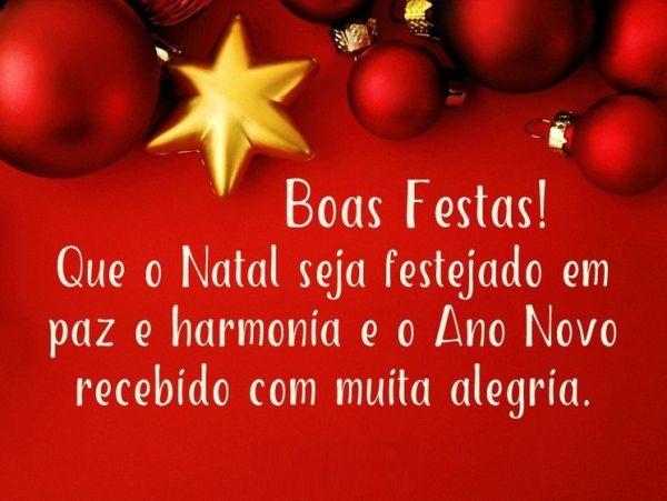 boas festas a todos que o natal seja de festança