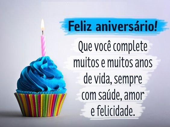 feliz aniversario que você complete muitos anos de vida