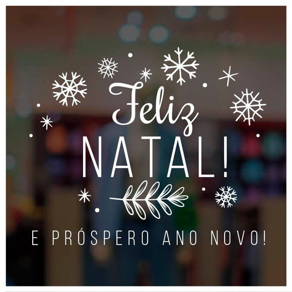 feliz natal e um prospero ano novo a todos