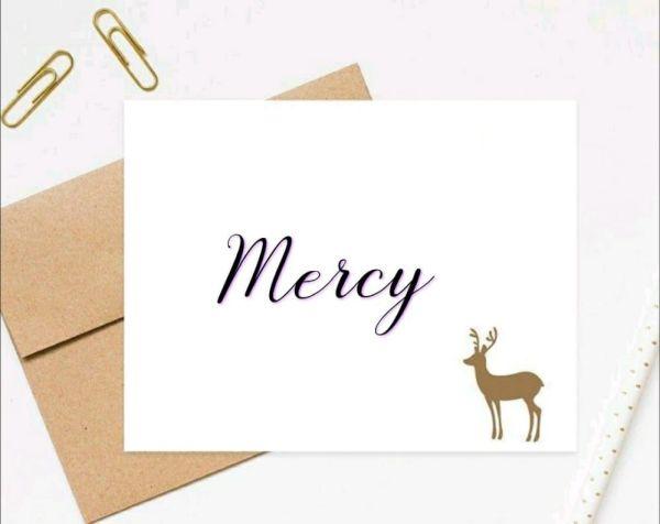 mercy que tem um nome de me servi