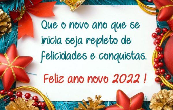 que o novo ano que se inicia seja repleto de felicidade feliz 2022