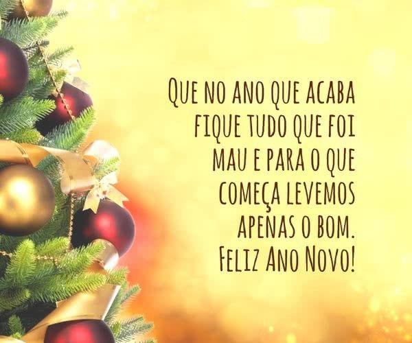 vamos começa esse ano levando somente tudo de bom feliz ano novo