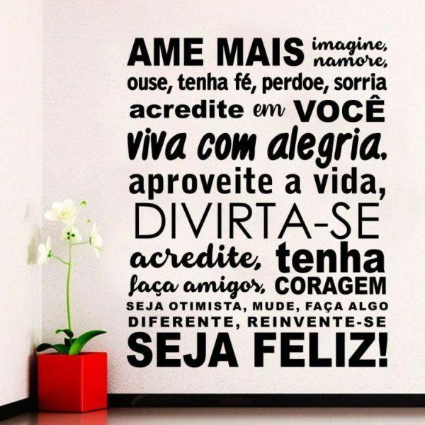 viva com alegria aproveite a vida boa noite