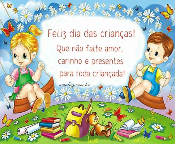 feliz dia das crianças que não falte amor