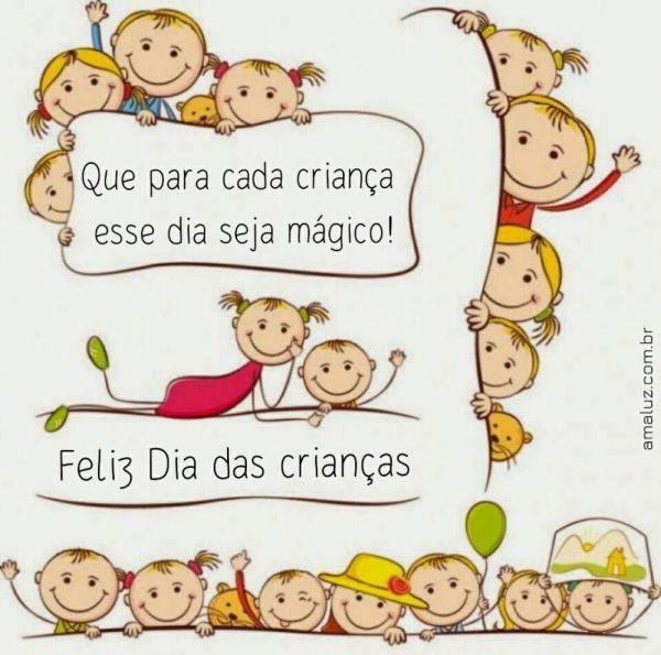para cada crianças esse dia seja mágico