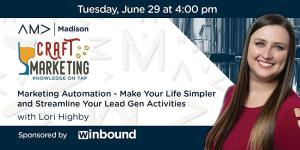 Lori Highby headshot for June's craft marketing event