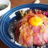 玉島ランチスタンド ローストビーフ丼
