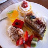岡山市「フリュティエ大元店」念願のケーキバイキング!オープンすぐは店売りケーキがある!前菜も大満足♪