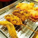 倉敷市阿知「倉敷 串カツのマー坊」昼飲みするならここ!安い美味い、大阪の香り漂う串カツ屋さん