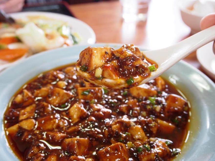 玉島福萬源 麻婆豆腐