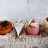 総社市「パティスリーシエルブルー(Ciel bleu)」衝撃的に美味しいケーキ、ラムレザン!カフェもすてきよ