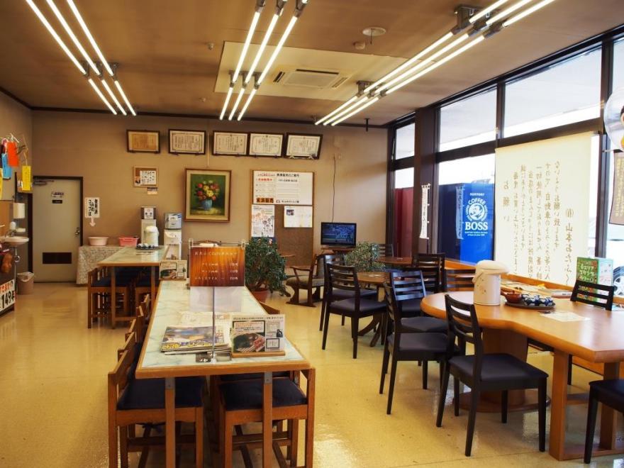 山本おたふく堂 喫茶スペース