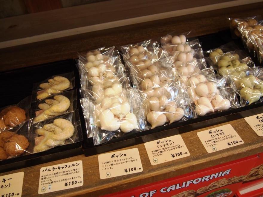 ムギ 焼菓子