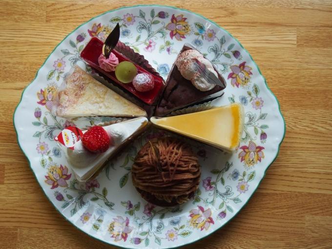 洋菓子のグルメ ケーキ