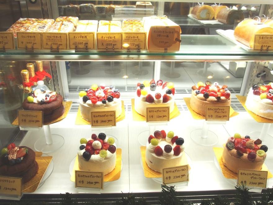 柏 洋菓子のグルメ ケーキ