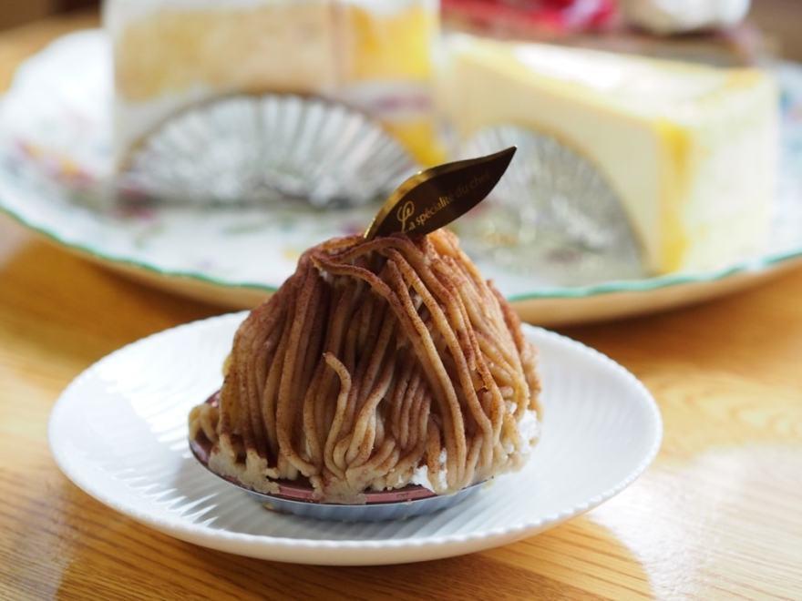 洋菓子のグルメ モンブラン