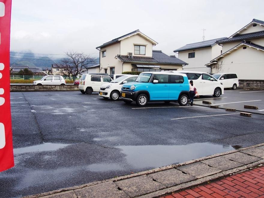境港市 らーめん太田屋 駐車場