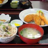 浅口市寄島町「海鮮食堂 海賊亭」念願の牡蠣!!牡蠣づくしに牡蠣のクリームコロッケで幸せランチ