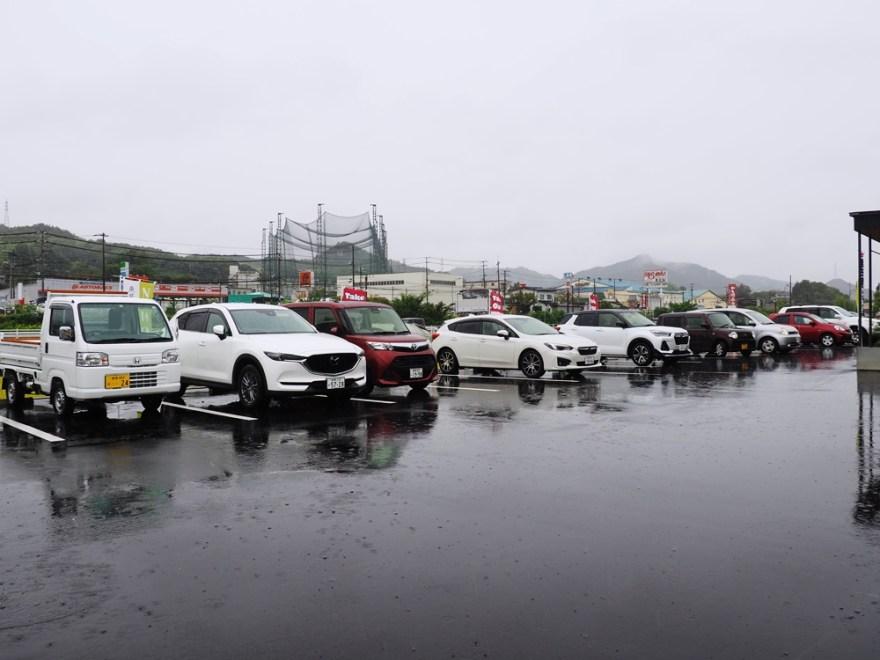 里庄 ななつや駐車場