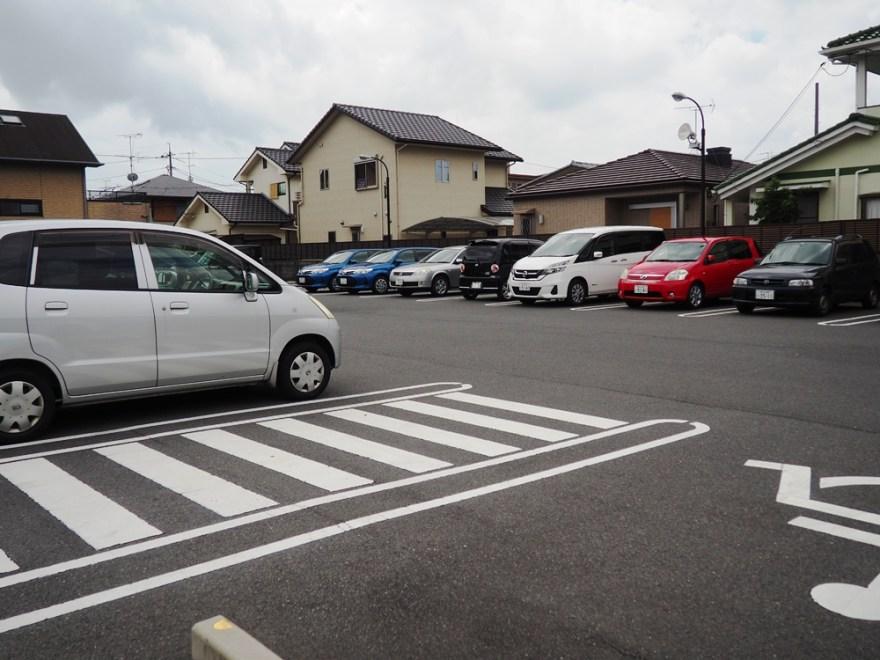 とんかつふく徳 駐車場