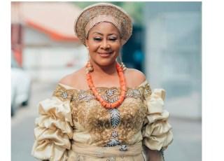 Ngozi Ezeonu Celebrates Her 55th Birthday With Lovely Photo