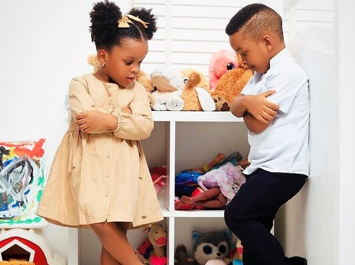 See Adorable Photos Of Singer, Paul Okoye's Twins As They Turn 3 ...