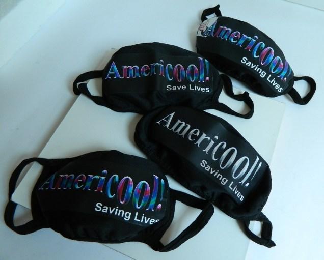 Americool Designer Face Masks.