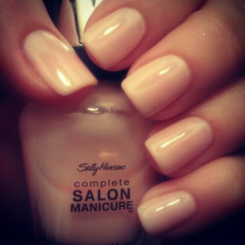 "If Sally Hansen's ""Shell We Dance"" isn't a spot on dupe for Marnie, I don't know what is!"