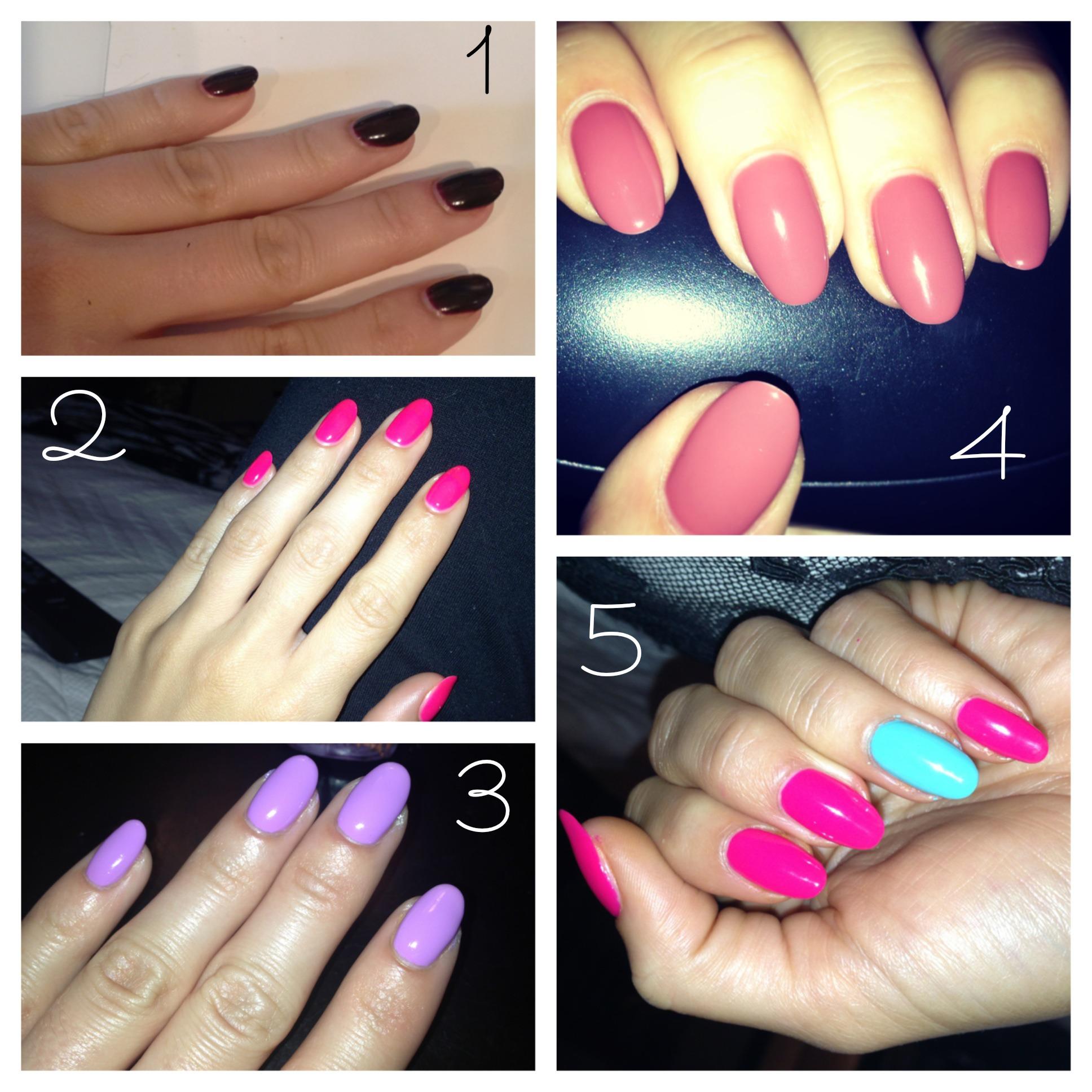 Mani Trends: Almond-Shaped Nails – Amanda Bella