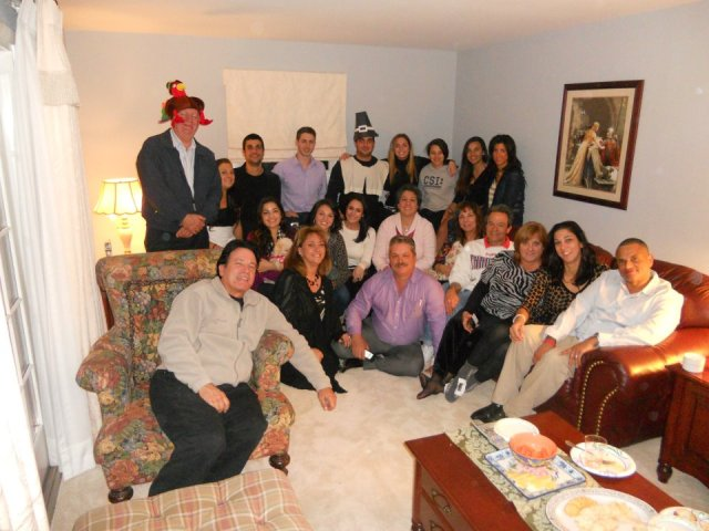 Everyone at Thanksgiving last year :)