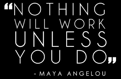 Maya Angelou work quote