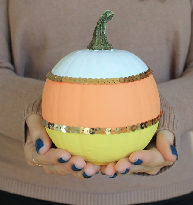 My candy cane pumpkin :)