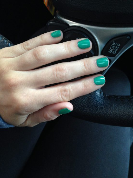 "Sally Hansen ""Mint Sprint"""
