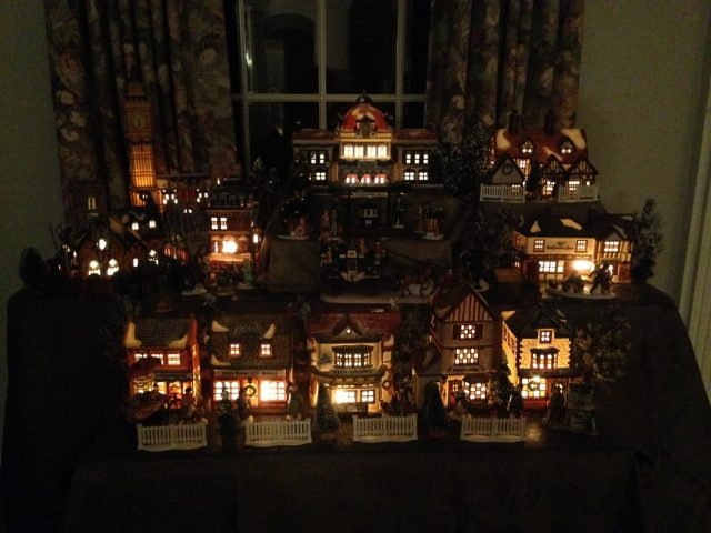 Have to share a picture of it all lit up!